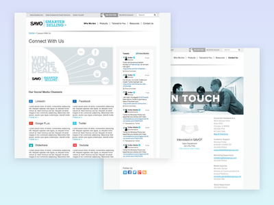 The SAVO Group bootstrap responsive web uiux