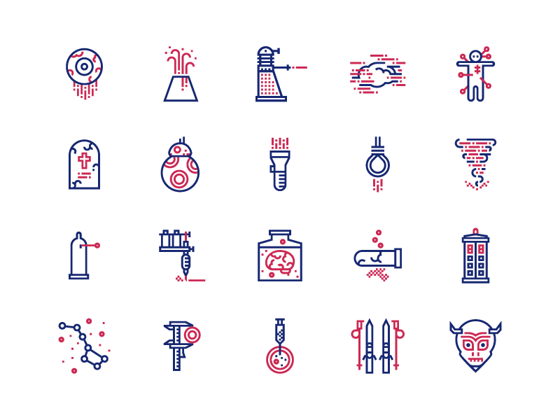 Science and Fiction fiction science free iconography icons icon