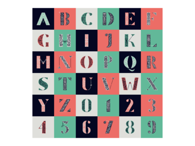 36 Days Of Type - All
