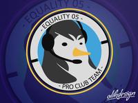 Equality05 - Pro Club Team Logo