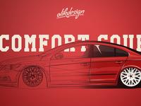 Comfort Coupé Artwork illustration PATH