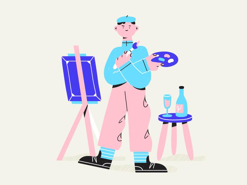 painter boy ✏️