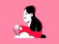 pink girl 💕