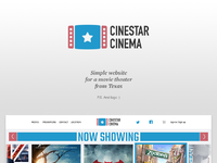 Cinestar cinema presentation