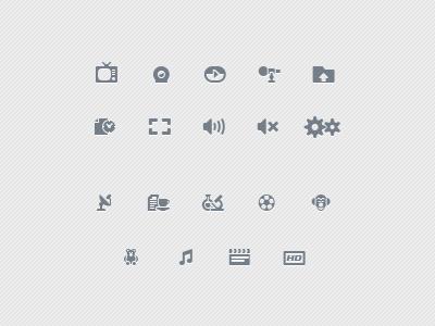 IPTV icons iptv player