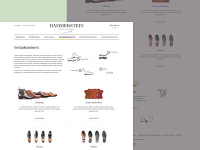E-commerce shoe handmade store web website ecommerce e-commerce font graphick shoe
