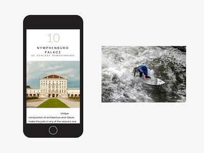 Munich Sighseeng surfing mobile webdesign munich