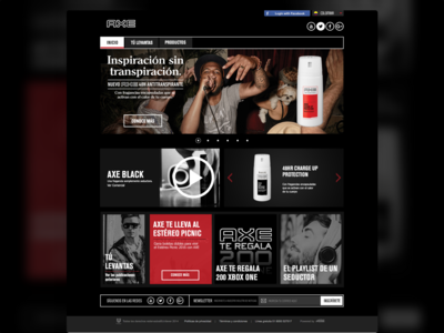 Axe.com.co Unused Concept 3