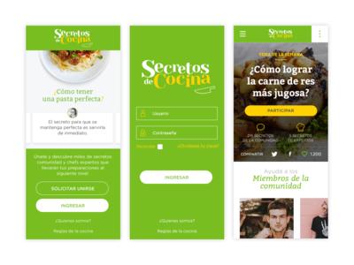 Secretos de Cocina - Mobile