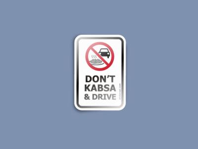 don't kabsa & drive
