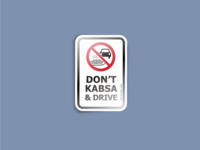don't kabsa & drive