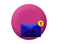 Icon animation - mail