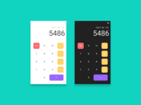 DailyUI:#004 - Calculator