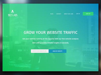 SEO Labs css html logo seo ui web design protoype figma