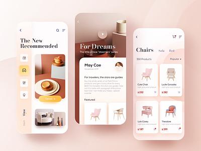 CHOME - 2 ue goods household home sketch fashion design app color ui
