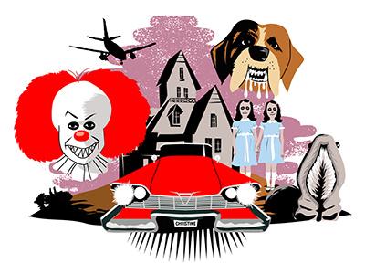 Stephen King haunted house christine cujo twins it stephen king