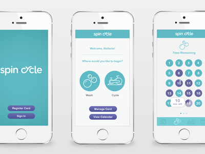 Spin Cycle Mobile App
