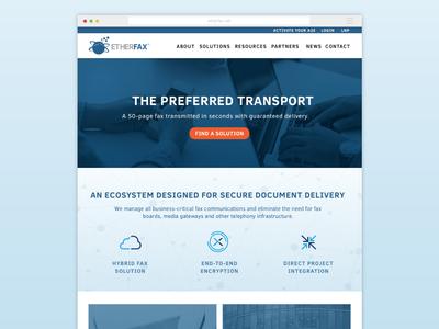 Fax Service Website