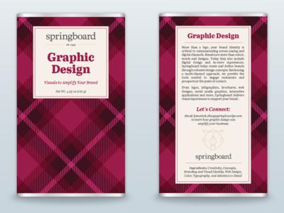 Graphic Design Holiday Chocolate Bar