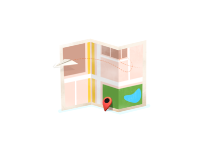 Map Illustration pin icon drawing illustration map contact