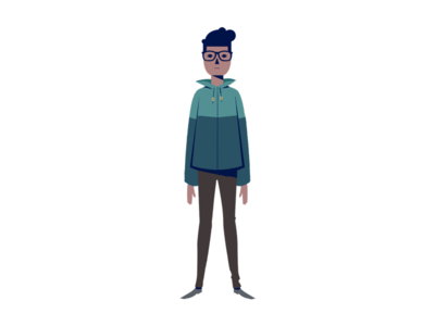 """""""Hipster"""" illustration hipster drawing character"""