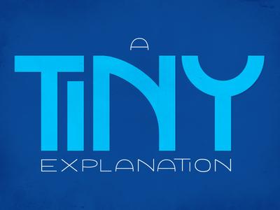 A Tiny Wordmark
