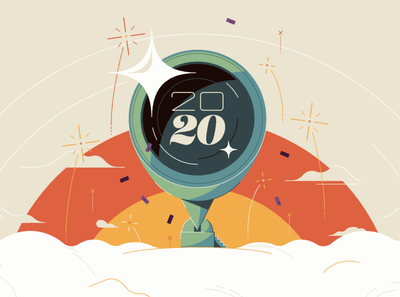 2020 character icon typography logo world abstract design flat vector iconographic illustration