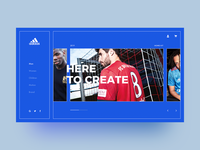 Adidas Concept Interface
