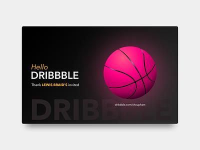 Hello Dribbble design board ux ui  ux choupham debut