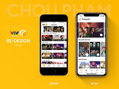 VTV Giải Trí - Redesign ui ux redesign