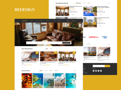 Hotel Booking Redesign