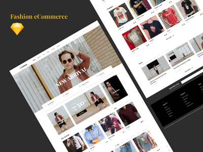 Fashion eCommerce Website payment website shirt ecommerce fashion