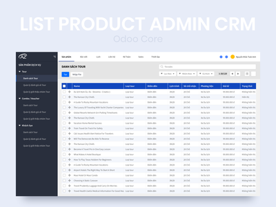 CRM Admin Dashboard ux ui systems dashboard admin crm