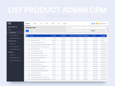 CRM Admin Dashboard