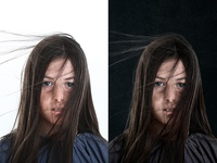 Photo Retouching - before & after