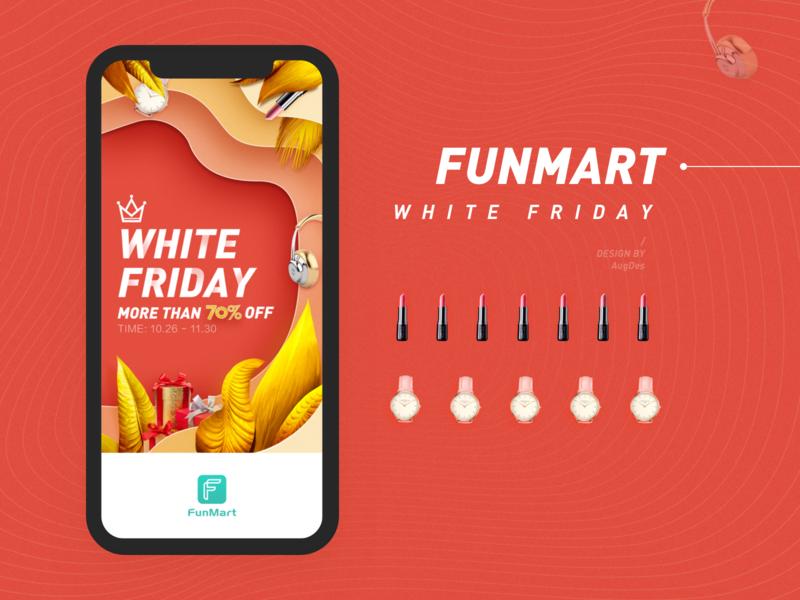 white Friday design 设计 ui