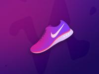 Nike Shoe Illustration