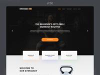 Fitness Web Landing Page