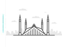 Faisal Masjid | Minimal
