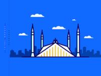 Faisal Mosque | Minimal 06