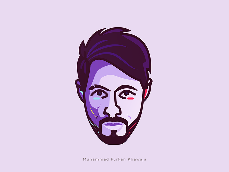 Avatar 2 photo profile pakistan islamabad face vector designer graphic furkan khawaja cartoon illustration avatar