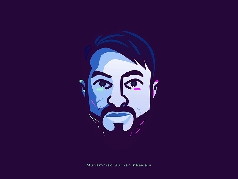 Burhan avatar dribbble dark