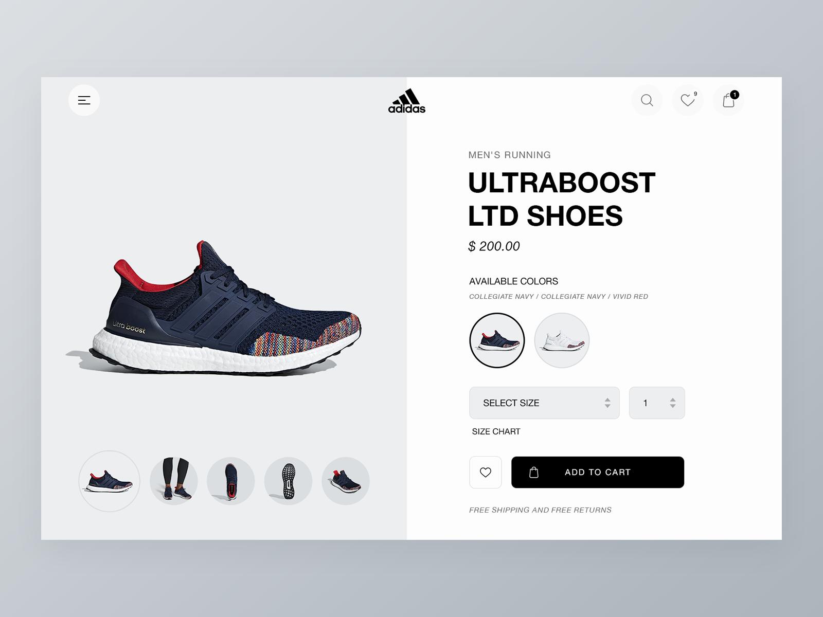 Adidas navy dribbble