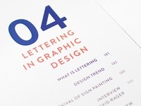04 Lettering In Graphic Design