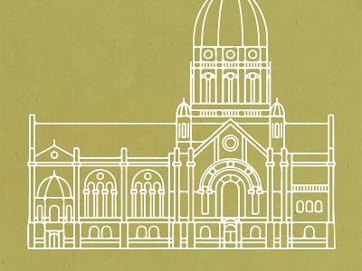 Christuskirche mainz monoline minimal