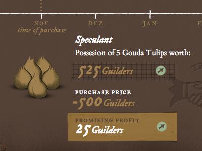 Tulipmania – Speculation Principle webdesign tulipmania
