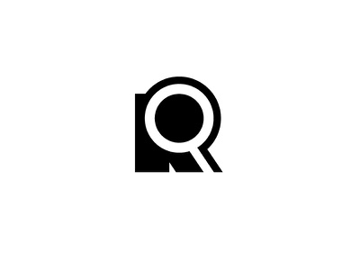 RQ search logo typography