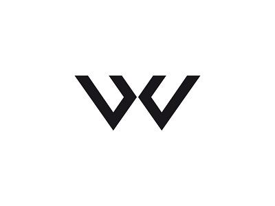 WX geometry typography logo
