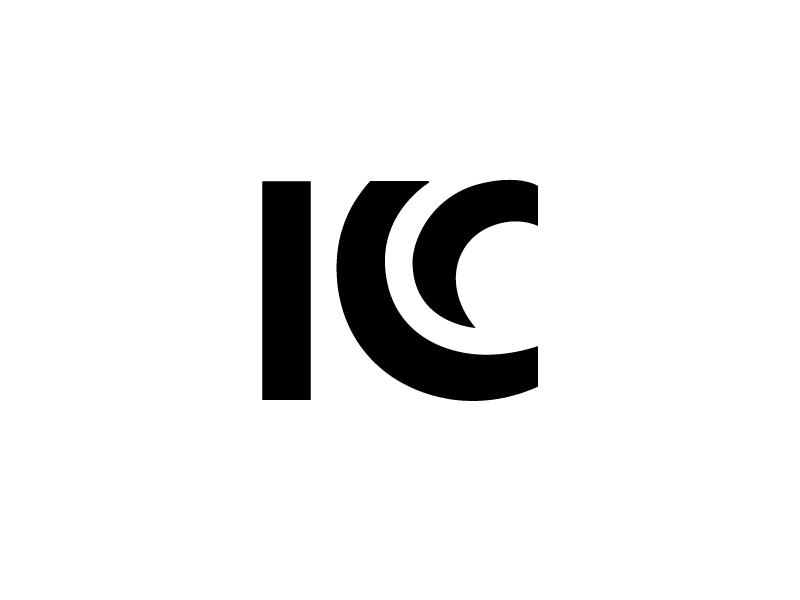 KC 2 monogram logo typography geometry