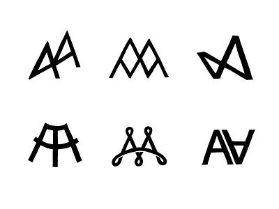AA Monograms 2/2 monogram typography